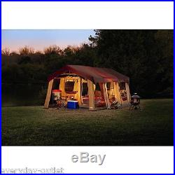 10Person Tent Large Camping Cabin Hiking Family Screened Front Porch Canopy Hunt