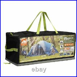 10 Person Camping Tent 3 Room Cabin Dome Portable Outdoor Shelter Rainfly Family
