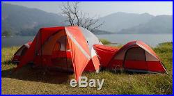 10 Person Family Tent Camping Waterproof Outdoor Hiking Tents 3 Dome Room Rooms