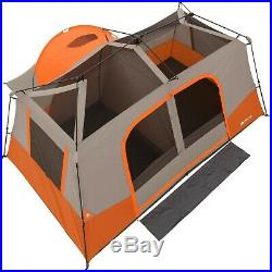 + 11 Person 3 Room Instant Cabin Tent Ozark Trail Outdoor Camping & Private Room