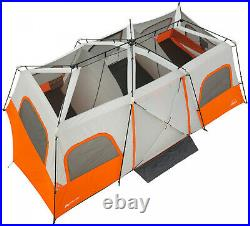 12 Persons 18 X 10 Instant Cabin Tent With Integrated Led Light Camping Outdoor
