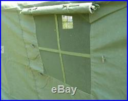 12 person military army tent camping hunting double layer waterproof 16'x16