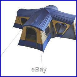 14-Person 4-Room Base Camp Tent Camping Family Cabin Big Tents Outdoor Hiking