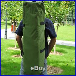 1 Person Foldable Bag Tent with Sleeping Bag Outdoor Hiking Camp Camping Bed Cot