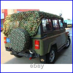26 x 26ft Woodland Camouflage Netting Military Camo Hunting Cover Net Backing