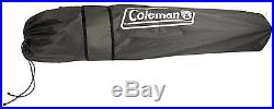 (2) COLEMAN Camping Outdoor Oversized Quad Chairs withCooler & Cup Holders Black