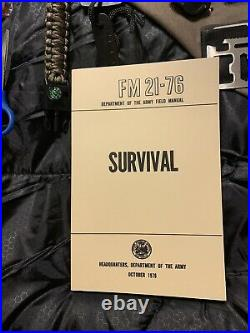2 Person Ultimate Survival Co Emergency Bug out Bag Hurricane Disaster