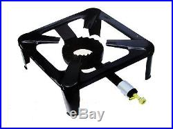 2 X Large Cast Iron Gas LPG Burner Cooker Gas Boiling Ring Restaurant Catering