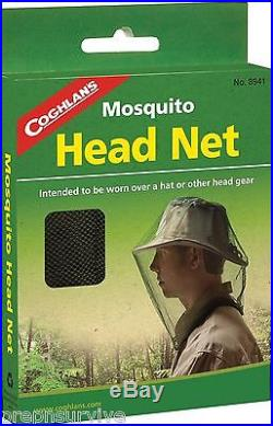4 PK MOSQUITO BEE FLY INSECT HEAD NET FISHING CAMPING HUNTING SURVIVAL OUTDOORS