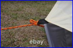 5m Camping Bell Tent ZIG 400-Ultimate Orange colour water proof & Carry case New