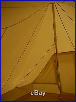 5m x 4m Touareg / Roman Bell Tent 100% Canvas with ZIG by Bell Tent Boutique