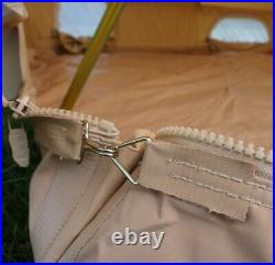 6m ZIG Bell Tent with Fireproof Stove Hole by Bell Tent Boutique