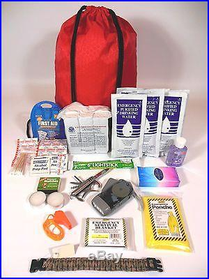 72 HOUR SURVIVAL DISASTER KIT EMERGENCY PREPAREDNESS FOOD WATER AND GEAR ZOMBIE