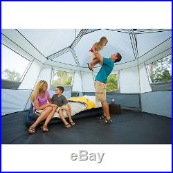 8 Sleeps Cabin Tent Instant Tents Ozark Trail All Season Camping Outdoor