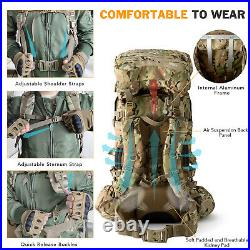 AKMAX Military Army ILBE Large Rucksack with Detacheable Tactical Backpack