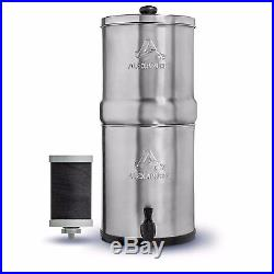 Alexapure Pro Stainless Steel Water Filter System 5,000 gallon capacity