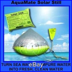 Aquamate Inflatable Solar Water Still + Free Ship