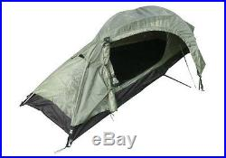 Army Recon 1 Berth ONE MAN TENT Single Military Camping Shelter Double Skin