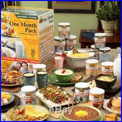Augason Farms Emergency Food Storage Kit 1 One Month or 30 Days 1 Person