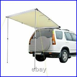 Awning Retractable SUV Rooftop Side Tent Shelter Waterproof UV Camping 6.6x8.2ft