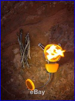BioLite CampStove 2 Bundle with Small Stove USB FlexLight Powerbank Grill Kettle