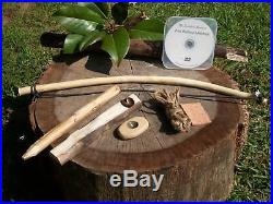 Bow Drill Fire Making Kit with DVD