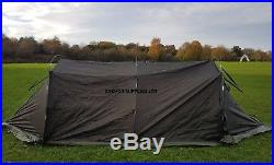 British Army 4 Man Arctic Dome Tent Unissued Canvas WITH POLES