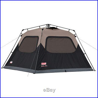 COLEMAN Waterproof 6 Person Family Camping Instant Tent w/ WeatherTec 10' x 9