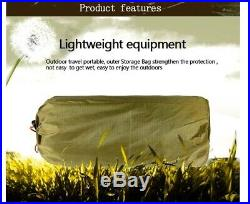 Camouflage Army Military Jungle Hiking Camping Tree Tent Hammock Mosquito Net
