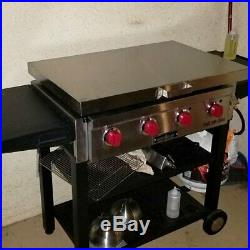 Camp Chef FTG600 Stainless cover-griddle not included