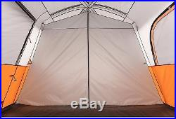 Camping Tent 8 Person Instant Waterproof 2 Rooms Family Cabin Shelter Stakes New