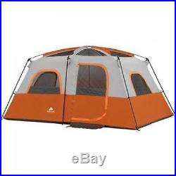 Camping Tent 8-Person Waterproof 2 Rooms Family Cabin Shelter Tents Two