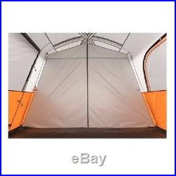 Camping Tent Cabin 8 Person Outdoor 2 Rooms Waterproof Family Shelter Hiking New