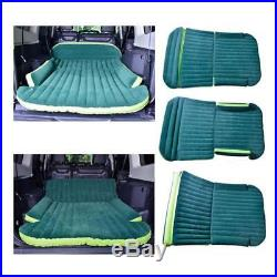Car Inflatable Mattress Travel Air Camping Support Bed Pump Pillow Cushion Rests