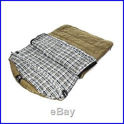 Cold Weather Sleeping Bag Zero Degree Sports Outdoor Camping Hiking 2 Person
