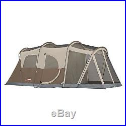 Coleman 6 Person 2 Room Tent Hiking Camping Outdoor Cabin Dome Forest Training