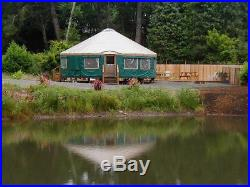 Colorado yurt 2006 30 ft Packaged up in a enclosed trailer which also for sale