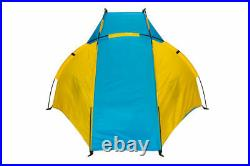 Fast Pitch Kid Baby Beach Uv Sun Protector Shelter Tent Camping Festival Fishing