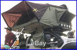 Hard Shell Aerodynamic Roof Top Tent suit 4wd + trailer camping- AX4 Large Xtent
