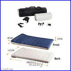 Inflatable Car Trunk Mattress Airbed Sleep Travel Self-Drive SUV Sectional Type