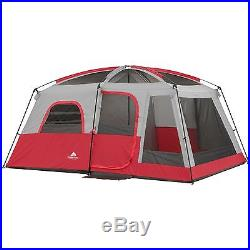 Instant Cabin Tent 10 Person Camping Hiking 2 Room Family Size Outdoor Sleeping
