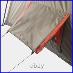 Instant Cabin Tent L-Shaped 12-Person Shade Camping Hiking Shelter Outdoor Room