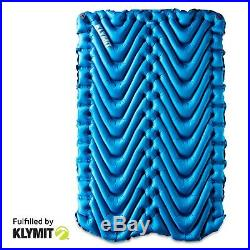 Klymit Static Double V Two-person Sleeping Camping Pad Factory Second
