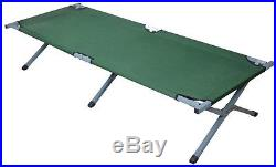 LOT2Outdoor Portable Folding Cot Military Hiking Camping Sleeping Bed Full Size