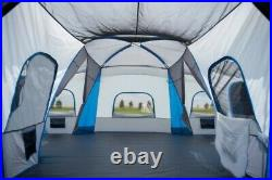 Large Camping Tent Outdoor Picnic Travel Family Cabin House 16 Person 4 Room