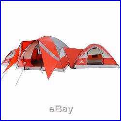 Large Family Camping Cabin Tent 10 Person 3 Dome Outdoor Equipment Hiking Gear