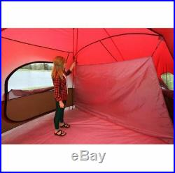 Large Tent Camping Outdoor Ozark Trail 3 Room 10 Person Waterproof New