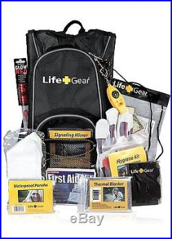Life Gear Emergency First Aid Outdoor Camping Hiking Survival Backpack Kit