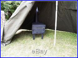 MILTEC Outdoor Camping Hunting BUSHCRAFT Complete TENT STOVE M Size (New)
