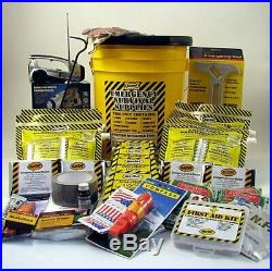 Mayday Earthquake 4 PERSON Deluxe Home Honey Bucket Survival Emergency Kit